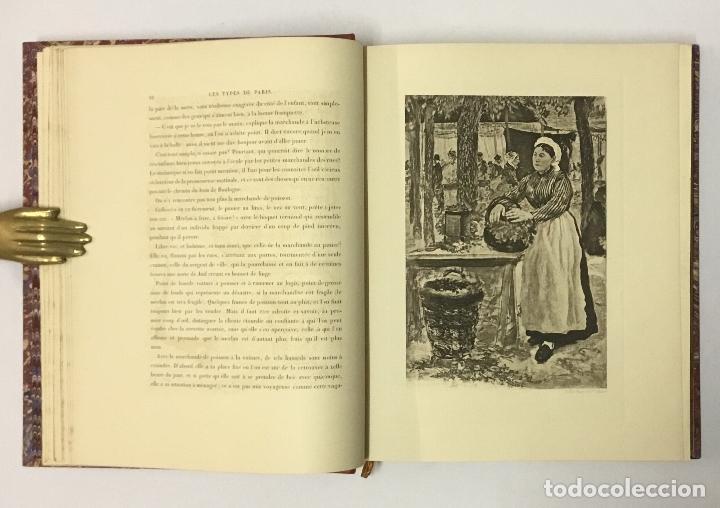 Varios objetos de Arte: LES TYPES DE PARIS. - [Jean-François Raffaëlli ilustr.] - Foto 5 - 114799454
