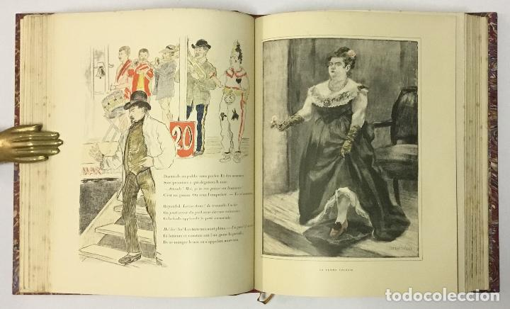 Varios objetos de Arte: LES TYPES DE PARIS. - [Jean-François Raffaëlli ilustr.] - Foto 7 - 114799454