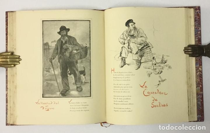 Varios objetos de Arte: LES TYPES DE PARIS. - [Jean-François Raffaëlli ilustr.] - Foto 10 - 114799454