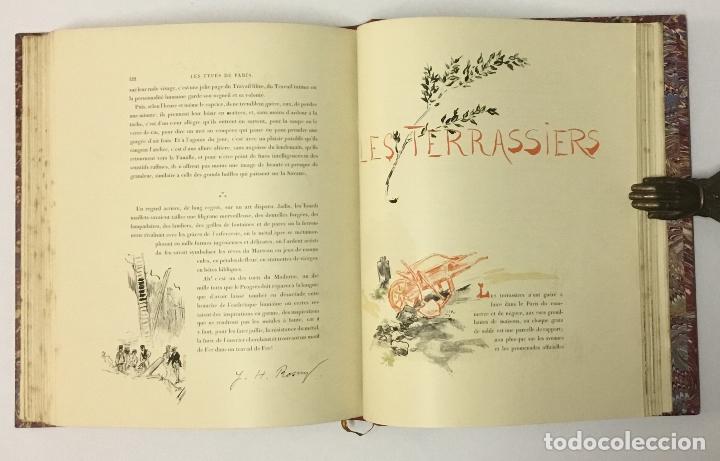 Varios objetos de Arte: LES TYPES DE PARIS. - [Jean-François Raffaëlli ilustr.] - Foto 12 - 114799454