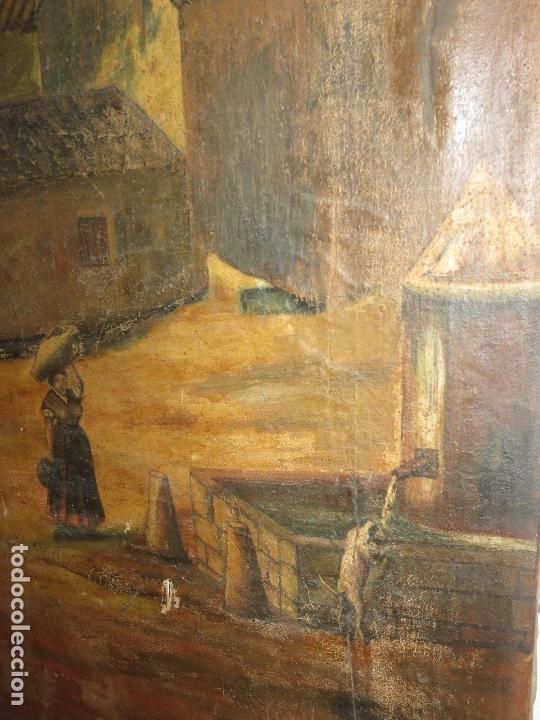 Varios objetos de Arte: ENORME PINTURA ANTIGUA OLEO LIENZO SIGLO XIX XVIII 150 X 120 - Foto 12 - 82969376