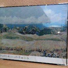 Varios objetos de Arte: CUADRO PAISAJE ENMARCADO AUTOR NELL REVEL SMITH REPLICA MUSEO NUEVO PRECINTADO . Lote 115240663
