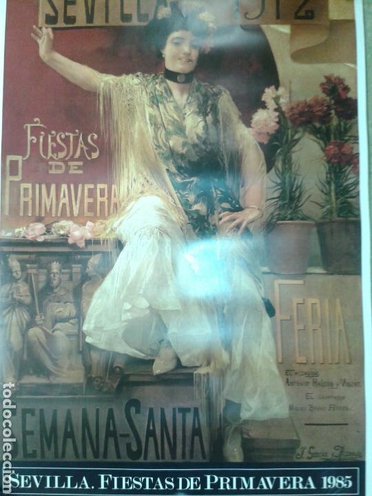 DOS ANTIGUO CARTEL DE LA FERIA DE SEVILLA (Arte - Varios Objetos de Arte)