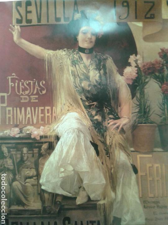 Varios objetos de Arte: DOS ANTIGUO CARTEL DE LA FERIA DE SEVILLA - Foto 2 - 115246326