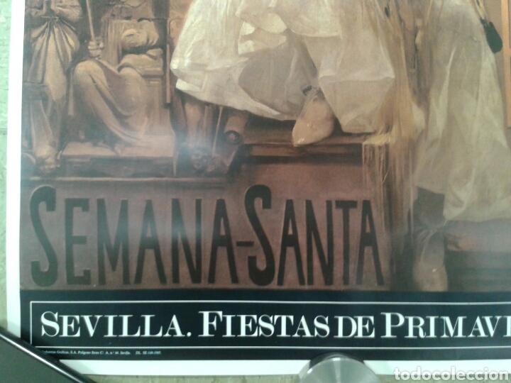 Varios objetos de Arte: DOS ANTIGUO CARTEL DE LA FERIA DE SEVILLA - Foto 5 - 115246326