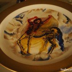 Varios objetos de Arte: DALÍ.CENTAURO DE CRETA,PLATO PORCELANA SERIE LOS CABALLOS DALINIANOS NÚM 0048, FIRMADO Y CERTIFICADO. Lote 115279703