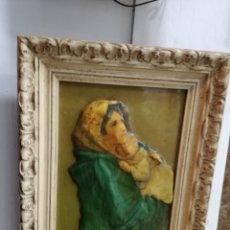 Varios objetos de Arte: BONITO CUADRO DE ESMALTE. Lote 115506030