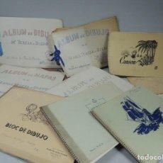 Varios objetos de Arte: COLECCION PRIVADA ALBUMES DE DIBUJOS 1955. Lote 115629867