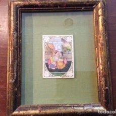 Varios objetos de Arte: PINTURA SOBRE MARFIL.. Lote 115642824
