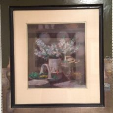 Varios objetos de Arte: ADY POSE - BODEGON DE FLORES. Lote 116104619