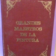 Varios objetos de Arte: GRANDES MAESTROS DE LA PINTURA - PINACOTECA DE LOS GENIOS / CODEX 6 FASCÍCULOS ENCUADERNADOS. Lote 116164451