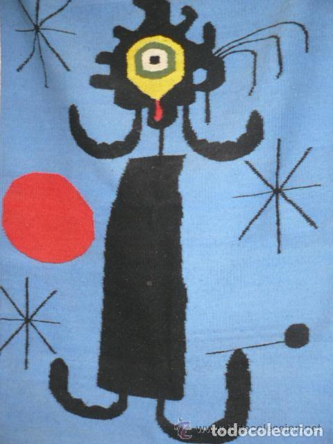 TAPIZ DE JOAN MIRO (Arte - Varios Objetos de Arte)