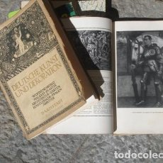 Varios objetos de Arte: DEUTSCHE KUNST UND DEKORATION (ARTE Y DECORACIÓN ALEMANAS) - PORTAL DEL COL·LECCIONISTA *****. Lote 116619691