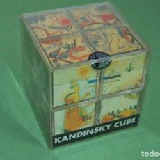 Varios objetos de Arte: PRECIOSO ROMPECABEZAS CON OBRAS DE KANDINSKY - CUBO 1993. Lote 116800339