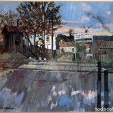 Varios objetos de Arte: REPRODUCCIÓN OBRA DEL ARTISTA VERDAGUER, ENMARCADO. Lote 116808375