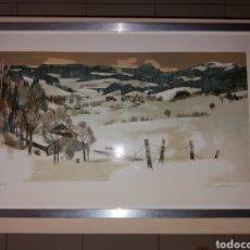 Varios objetos de Arte: OBRA DE ARTE FIRMADA POR AUTOR Y NUMERADA. Lote 116927980