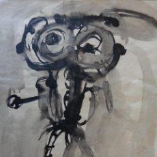 Varios objetos de Arte: ANTONIO SAURA (TINTA SOBRE PAPEL). Lote 117517803