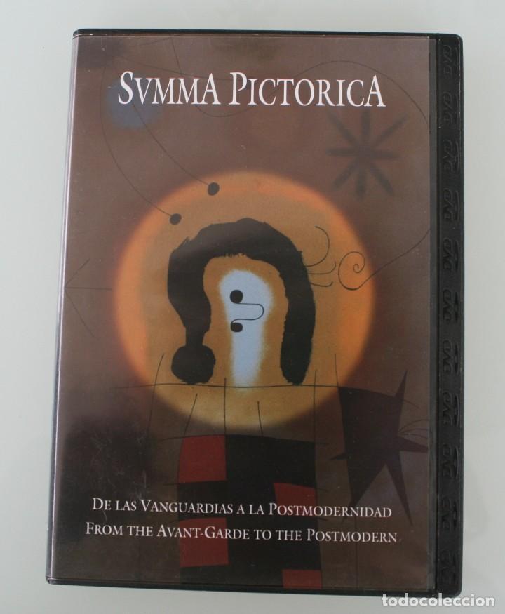 DVD ARTE PINTURA COLECCIÓN SVMMA PICTORICA Nº X: DE LAS VANGUARDIAS A LA POSTMODERNIDAD (Arte - Varios Objetos de Arte)