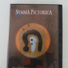 Varios objetos de Arte: DVD ARTE PINTURA COLECCIÓN SVMMA PICTORICA Nº X: DE LAS VANGUARDIAS A LA POSTMODERNIDAD. Lote 117833787