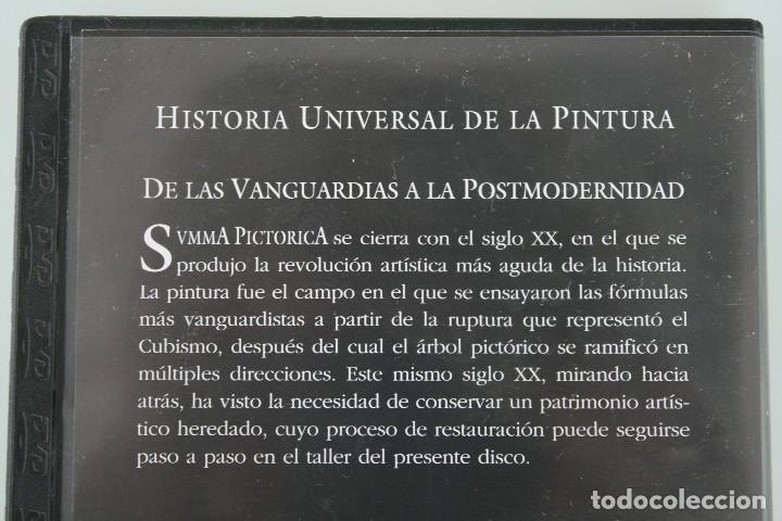 Varios objetos de Arte: DVD ARTE PINTURA COLECCIÓN SVMMA PICTORICA Nº X: DE LAS VANGUARDIAS A LA POSTMODERNIDAD - Foto 2 - 117833787
