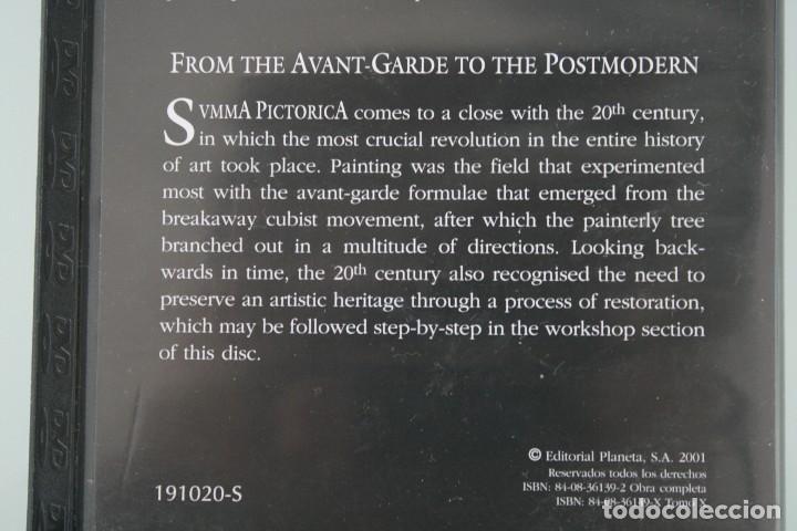 Varios objetos de Arte: DVD ARTE PINTURA COLECCIÓN SVMMA PICTORICA Nº X: DE LAS VANGUARDIAS A LA POSTMODERNIDAD - Foto 3 - 117833787