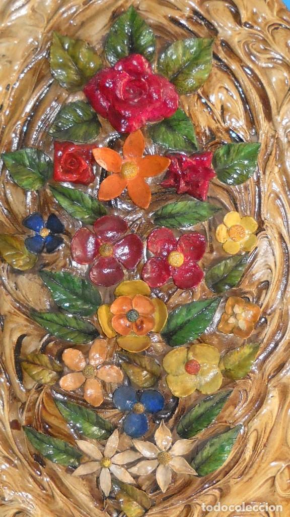 Varios objetos de Arte: Precioso cuadro en relieve realizado en pasta. - Foto 2 - 118033999