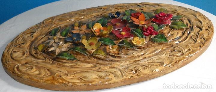 Varios objetos de Arte: Precioso cuadro en relieve realizado en pasta. - Foto 4 - 118033999