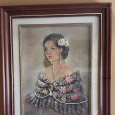 Varios objetos de Arte: ELENA OLIVERA / PRECIOSO CUADRO EN RELIEVE REALIZADO EN ESMALTE / FIRMADO / 45 X 55.5 CM / LEER. Lote 118253239