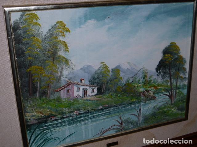 CUADRO DE PINTURA SOBRE TABLILLA, FIRMADO (Arte - Varios Objetos de Arte)