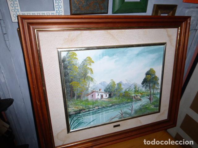 Varios objetos de Arte: CUADRO DE PINTURA SOBRE TABLILLA, FIRMADO - Foto 3 - 118375903