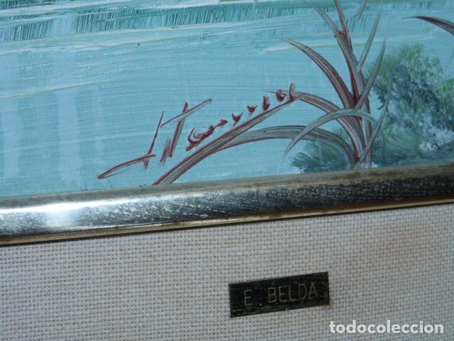 Varios objetos de Arte: CUADRO DE PINTURA SOBRE TABLILLA, FIRMADO - Foto 4 - 118375903