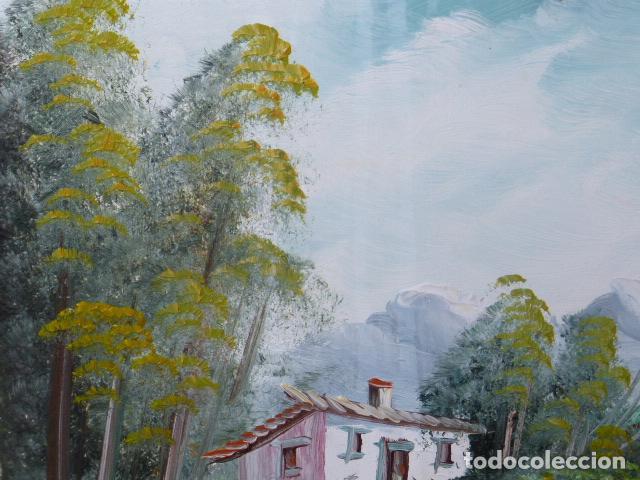 Varios objetos de Arte: CUADRO DE PINTURA SOBRE TABLILLA, FIRMADO - Foto 5 - 118375903