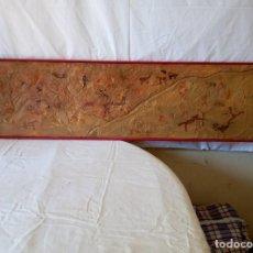 Varios objetos de Arte: RECREACION PINTURAS RUPESTRES TASSILI. Lote 118477467