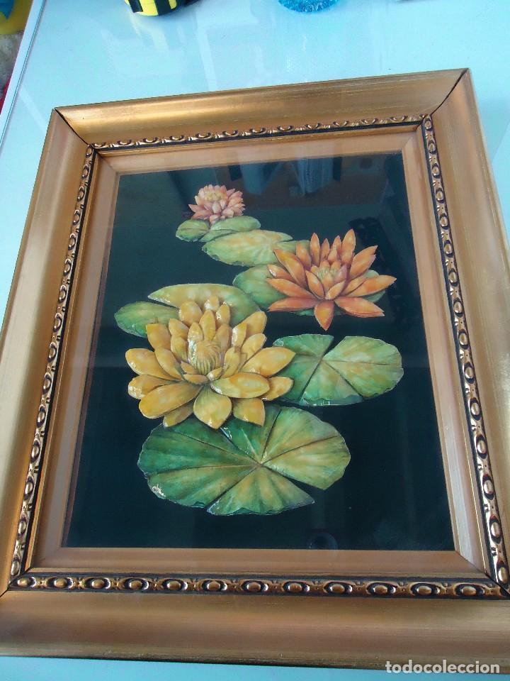 Varios objetos de Arte: cuadro de flores realizado a mano - Foto 3 - 118811199