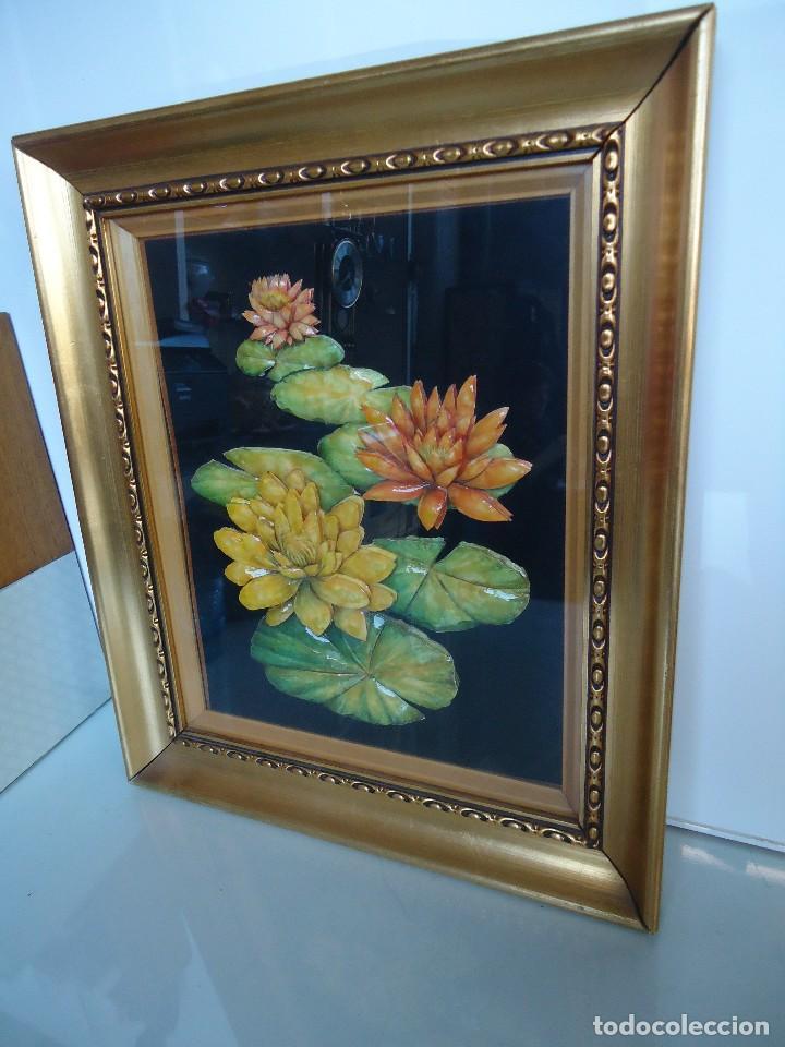 Varios objetos de Arte: cuadro de flores realizado a mano - Foto 4 - 118811199