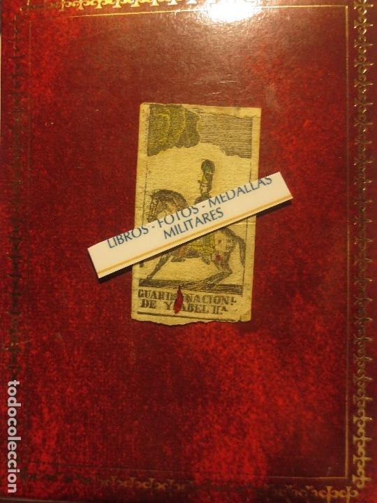 Varios objetos de Arte: GRABADO MILITAR GUARDIA NACIONAL A CABALLO DE ISABEL II CIRCA MEDIADOS SIGLO XIX - Foto 5 - 116180975