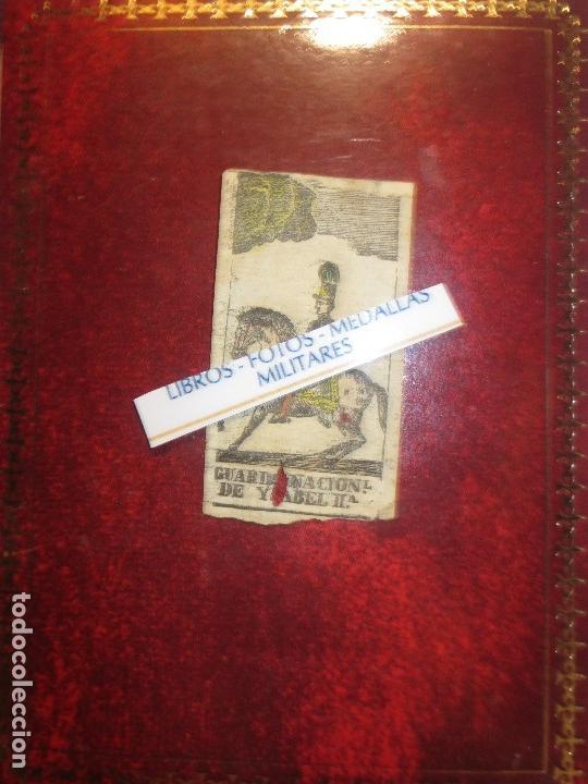 Varios objetos de Arte: GRABADO MILITAR GUARDIA NACIONAL A CABALLO DE ISABEL II CIRCA MEDIADOS SIGLO XIX - Foto 6 - 116180975