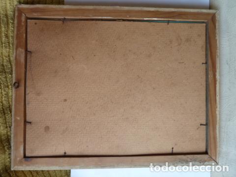 Varios objetos de Arte: PINTURA SOBRE CRISTAL AUTOR DESCONOCIDO - Foto 3 - 119074143