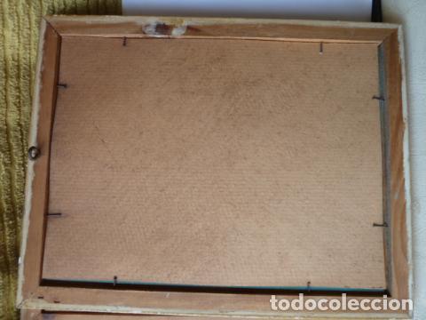 Varios objetos de Arte: PINTURA SOBRE CRISTAL AUTOR DESCONOCIDO - Foto 4 - 119074247