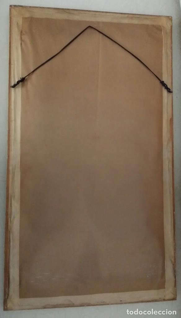 Varios objetos de Arte: CUADROS ORIENTALES PINTADOS GEISHAS - Foto 8 - 119143927