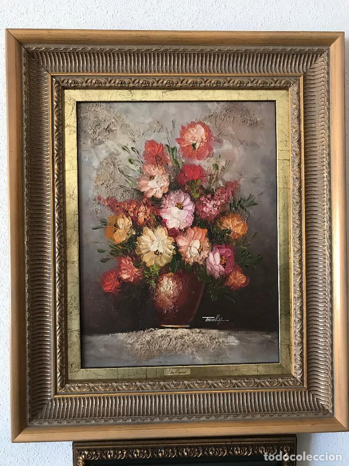 lienzo florero 51 x 60 y 30x 40 sin marco - Comprar en todocoleccion ...