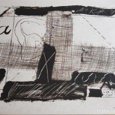 Varios objetos de Arte: REBAJADO!!. IMPRESIÓN ANTONI TAPIES, PAPEL ACUARELA.. Lote 119442715