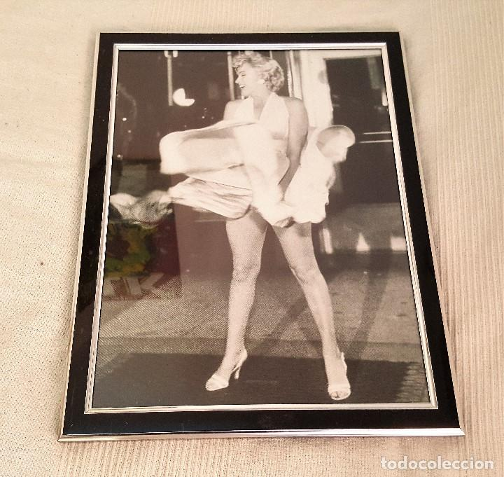 precioso cuadro marilyn monroe enmarcado 45 cm - Comprar en ...