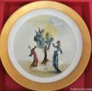 Varios objetos de Arte: PLATO SALVADOR DALÍ. COLECCION LA DIVINA COMEDIA. NUMERADA Y CERTIFICADA. EL ARBOL DE LA PENITENCIA.. Lote 121677103