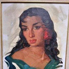 Varios objetos de Arte: FEDERICO MOLINA GITANA . Lote 121898619