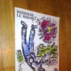 Varios objetos de Arte: DERRIERE LE MIROIR / CHAGALL / 1964 / Nº 147 / . Lote 122559615