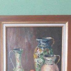 Varios objetos de Arte: CUADRO AL OLEO DEL PINTOR CANADIENSE CONSTANT FRONVILLE. Lote 122653119