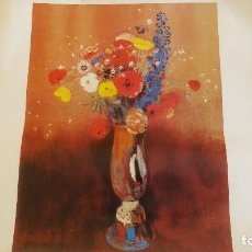 Varios objetos de Arte: LÁMINA ODILON REDON (1840-1916). Lote 124172563