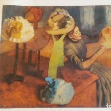 Varios objetos de Arte: LÁMINA EDGAR DEGAS (1834-1917). Lote 124173899
