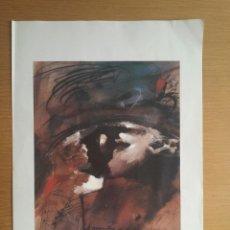 Varios objetos de Arte: LAMINA CARTEL AVUI MODEST CUIXART AÑOS 90. Lote 124245648